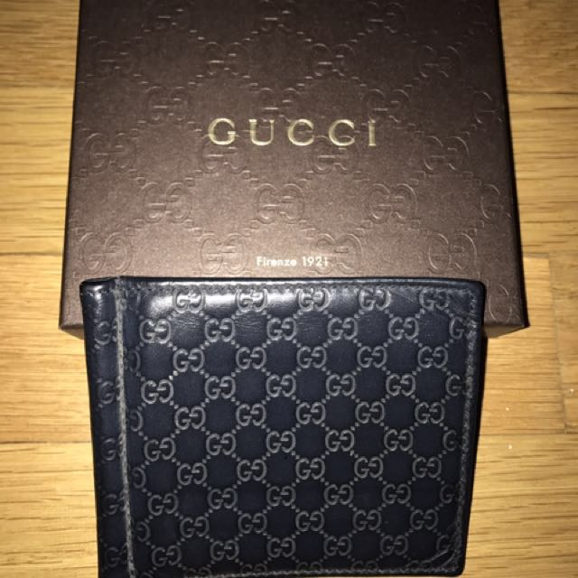 4e5a7318150b3 Gucci Signature money clip wallet