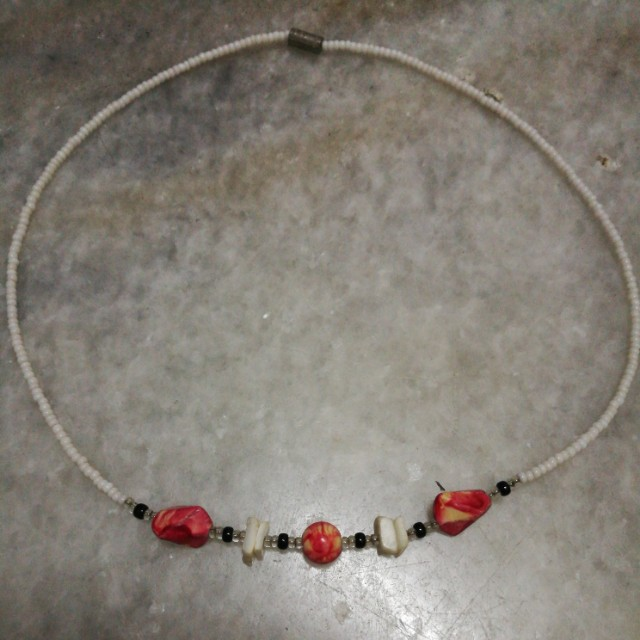#semuaRm5 Handmade bead necklace