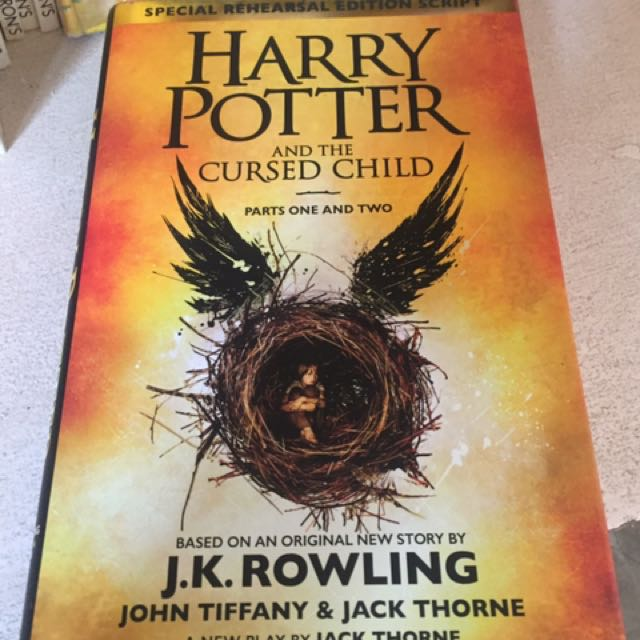 Harry Potter and the Cursed Child hardbound