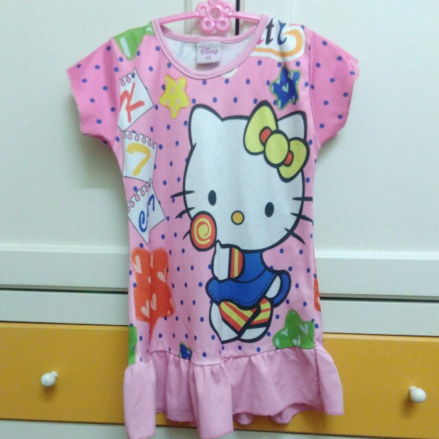 Hello Kitty 2-3y pink dress