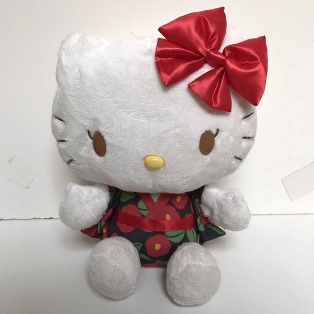 HELLO KITTY KIMONO DOLL ORIGINAL SANRIO JAPAN