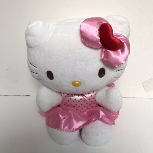 HELLO KITTY PINK DOLL ORIGINAL SANRIO INDONESIA
