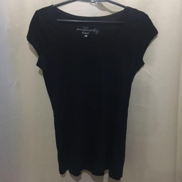 H&M Basic Black Shirt