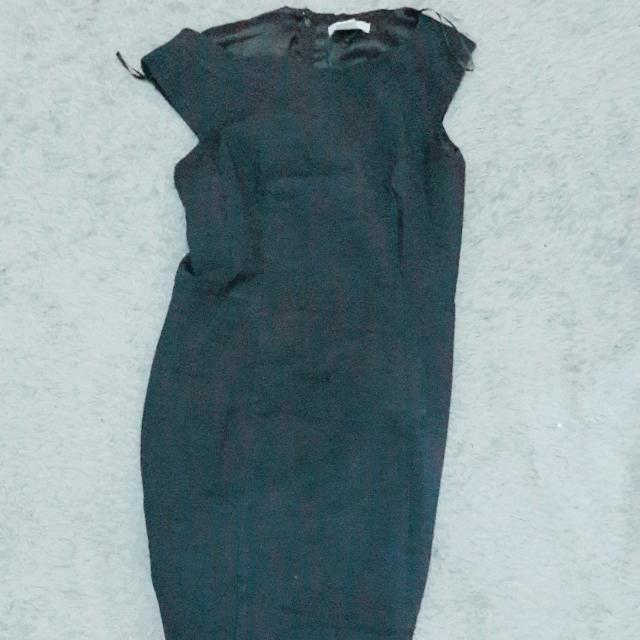 H&M Basic Office Dress Navy