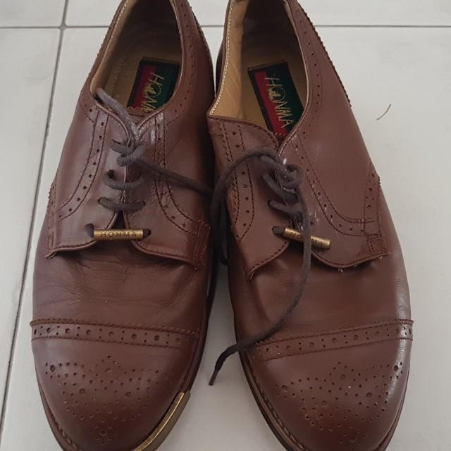 HONMA ladies leather golf shoes FREE bag 6f47f693795