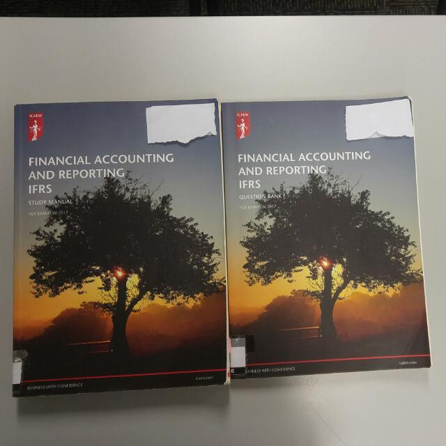 icaew photocopied financial accounting and reporting ifrs study rh sg carousell com Ho to Manual icaew financial accounting study manual pdf