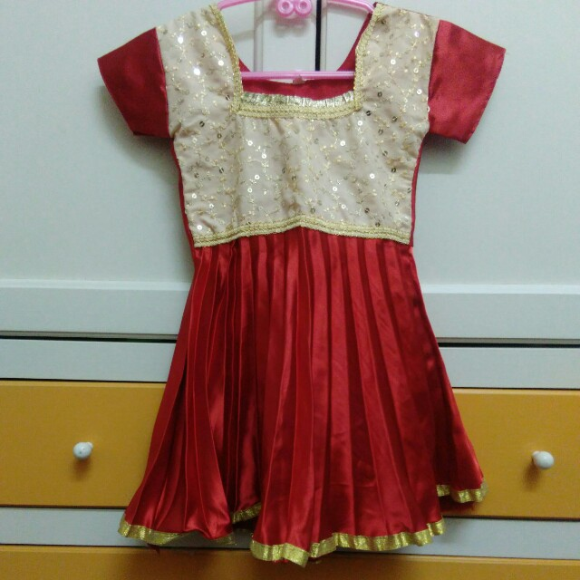 Indians girl 3y dress