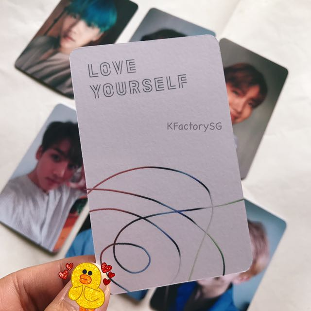 instock bts love yourself her replica photocard 1508595855 f6c27e4b