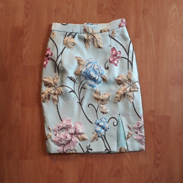 Jaguard Skirt Flora by Carol