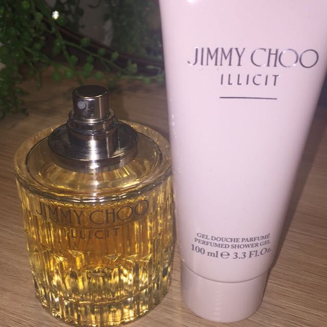 Jimmy Choo Illicit Perfume, Body Lotion + Shower Gel