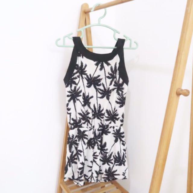 Jumpsuit Palm Tree BKK