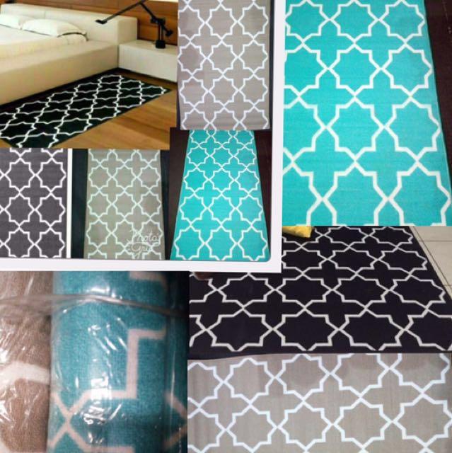 Karpet Monochrom like IKEA motif