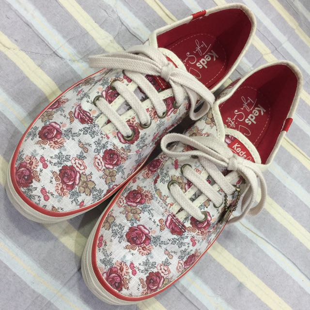 Keds taylor swift floral red champion
