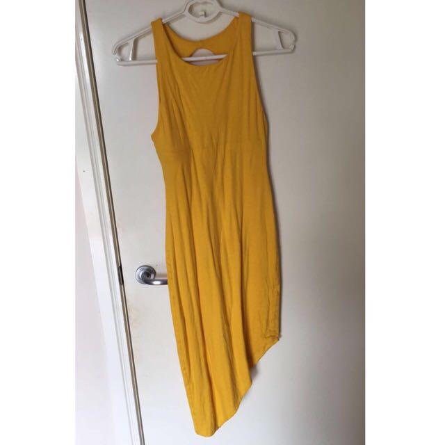 Kookai Asymmetrical Midi Dress