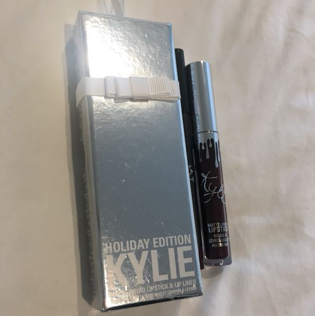 "Kylie Cosmetics Lip Kit - Holiday Edition ""Vixen"""
