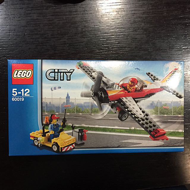 Lego City 60019 Show plane with Crew, Toys & Games, Toys on Carousell