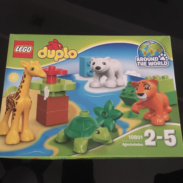 Lego Duplo Around The World 10801 Toys Games Bricks Figurines
