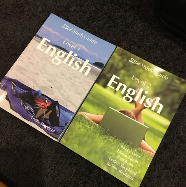 Level 1 English and Level 2 English ESA Study Guide
