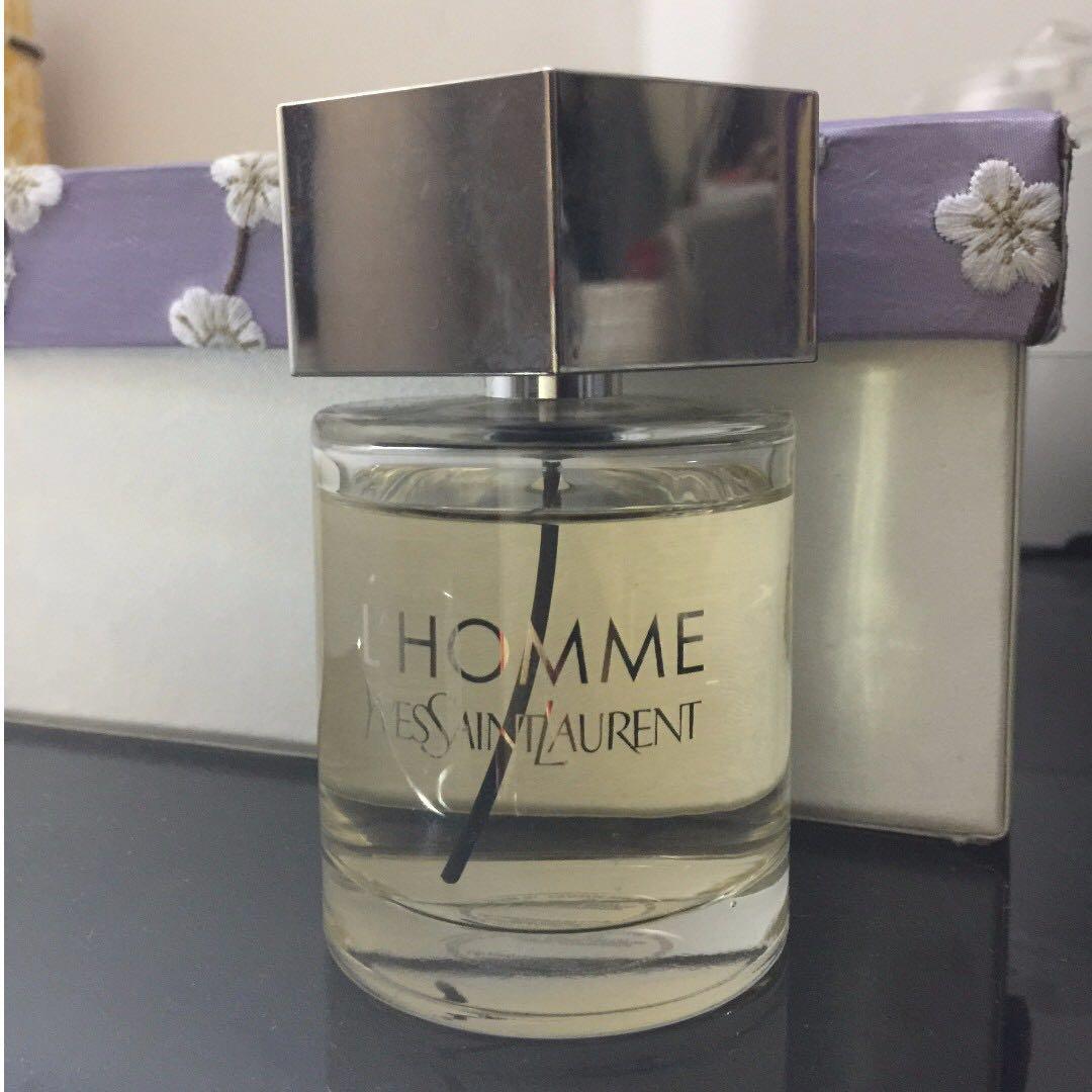 L'Homme Yves Saint Lauren by YSL for men Eau De Toilette 100ml bottle