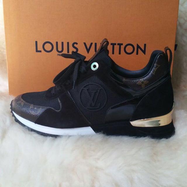 e2be6d7bbb0 Louis vuitton Run Away Sneaker, Women's Fashion, Shoes on Carousell