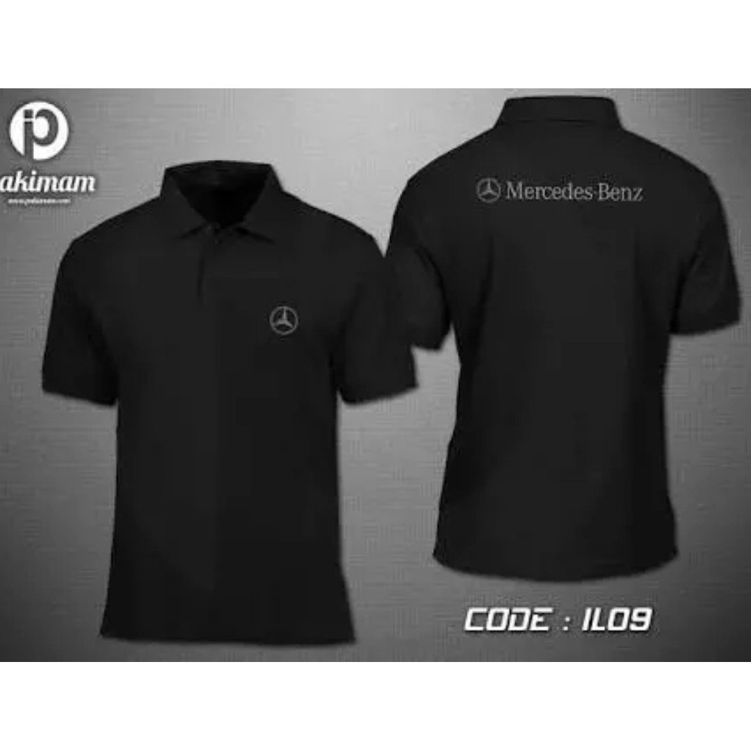 mercedes benz polo shirt men 39 s fashion clothes on carousell. Black Bedroom Furniture Sets. Home Design Ideas