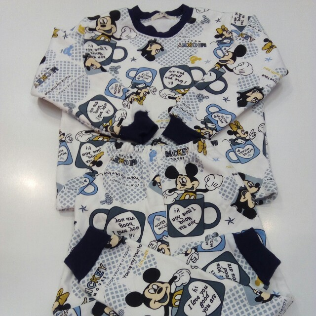 Mickey and Minnie Sleep Wear