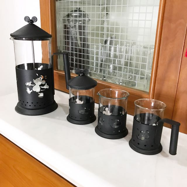 Mickey coffee set