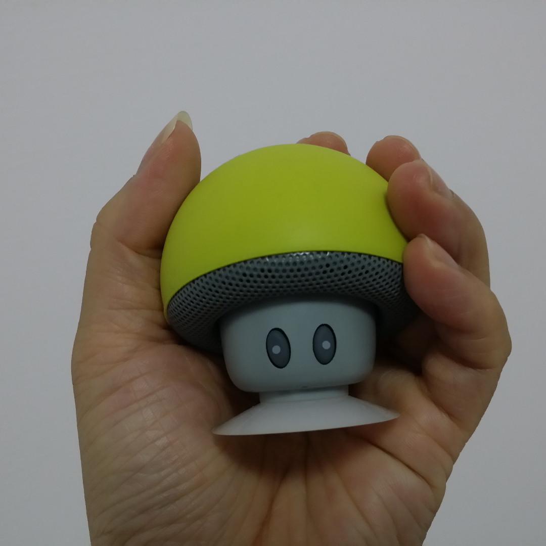 (二手)MINI Bluetooth speaker 香菇造型 藍芽喇叭