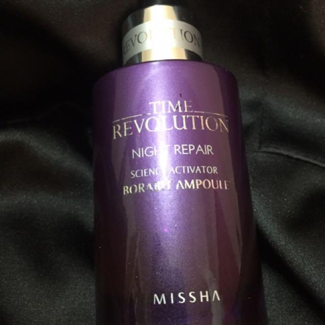 Missha Time Revolution Night Repair Ampoule