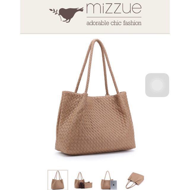 Mizzue 一次擁有三個包