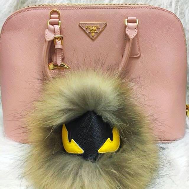 Monster bag charm