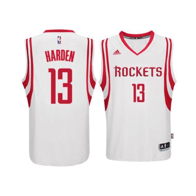 buy popular 8b930 f5c1c NBA Adidas James Harden Swingman(home/white) Basketball ...