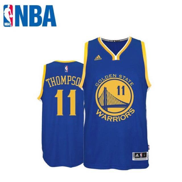 buy popular 6f21e 24f25 NBA Adidas Klay Thompson Swingman(blue/away) Basketball Jersey