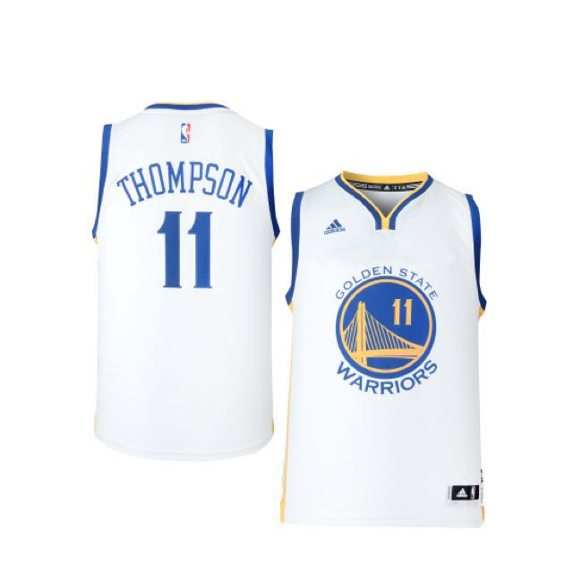 super popular f4be5 a2278 NBA Adidas Klay Thompson Swingman(white/home) Basketball Jersey