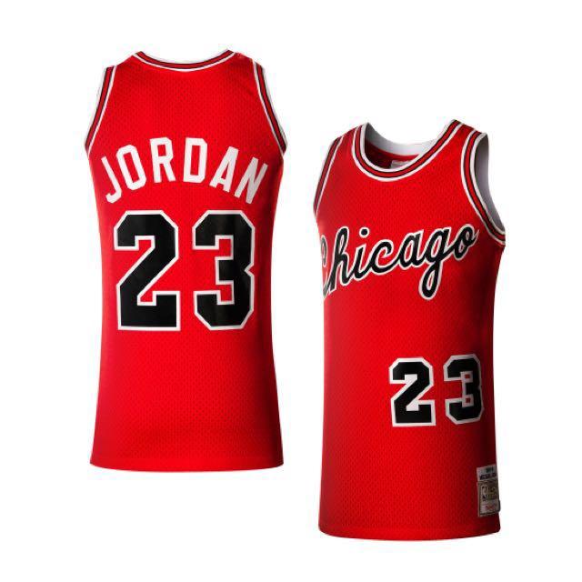 new concept 417b4 8c23e NBA Mitchell and Ness 1984-1985 Rookie/Michael Jordan(road ...