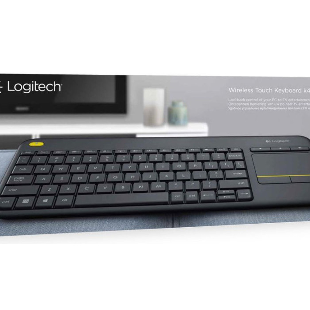 23766796f2c NEW in BOX with WTY - Logitech K400 Plus Wireless Touch Touchpad ...