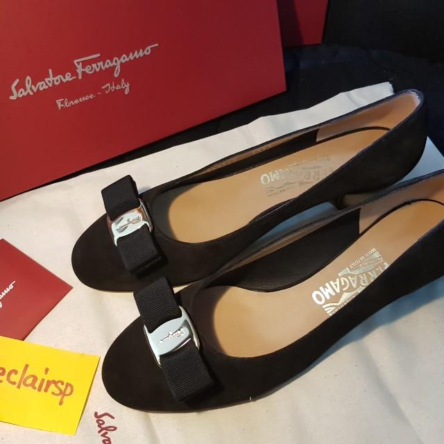 New Salvatore Ferragamo shoes Vara