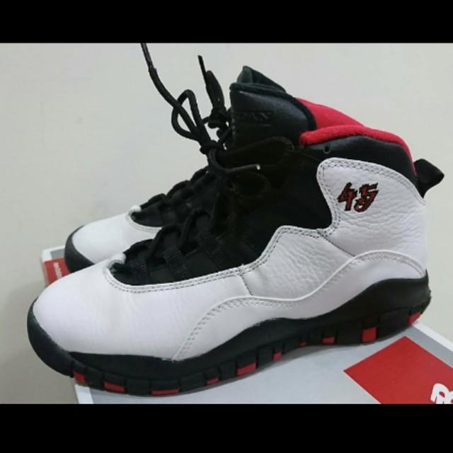 Nike Jordan 10 黑紅 10代
