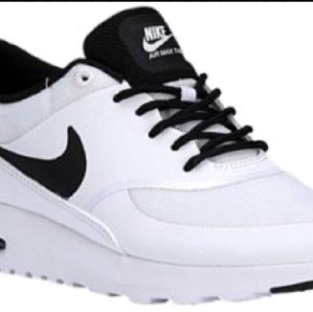 Nike Women's Air Max Thea White and Black Sz 9.5