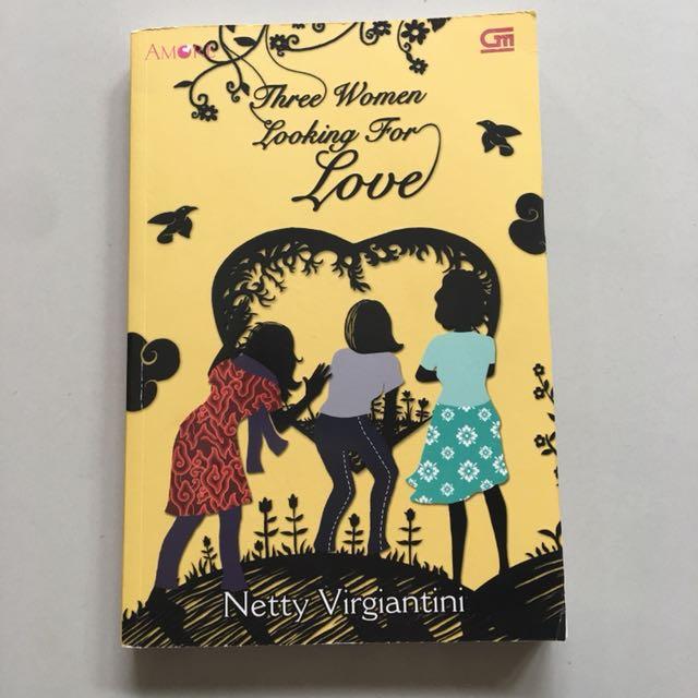novel three women looking for love