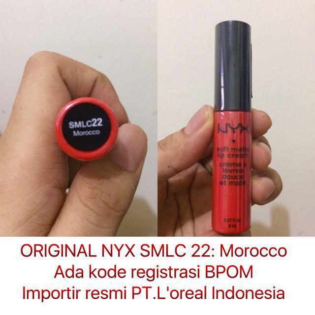 NYX Soft Matte Lip Cream SMLC Morocco