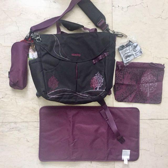 OKIEDOG DAHOMA SUMO BLACK (Diapers Bag)