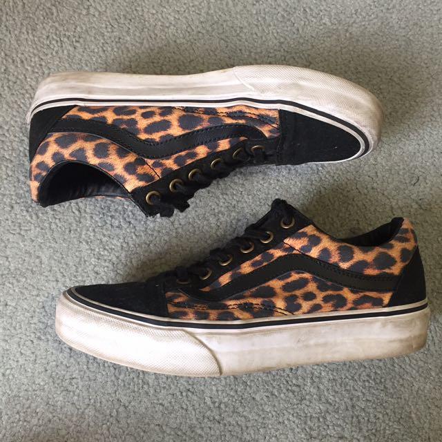 leopard print vans shoes australia