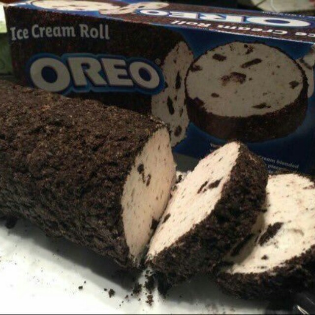 Oreo Ice cream Roll!