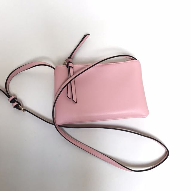 ORIGINAL FOREVER21 MINI PINK SLING BAG