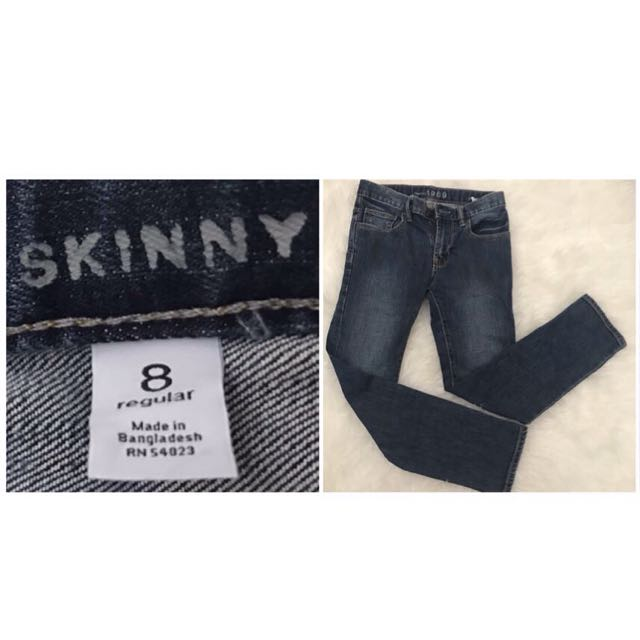 Original gap boys skinny jeans