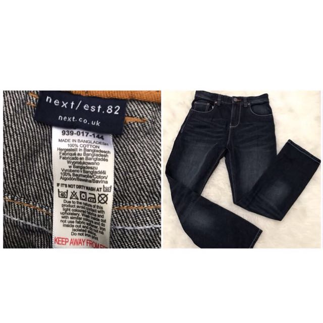 Original next boys skinny jeans
