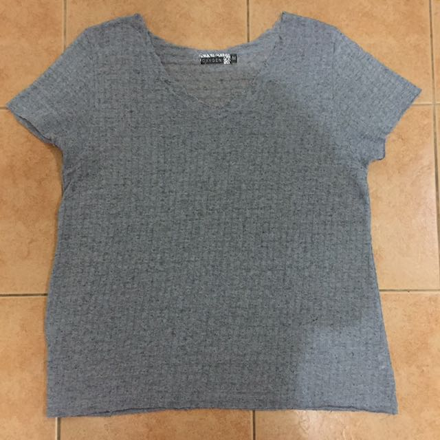 Oxygen knitted like top