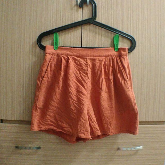 Pazzo棉麻短褲