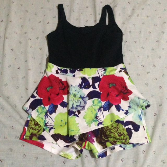 Peplum Skort/dress